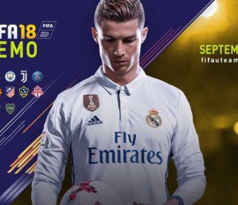 La démo de FIFA 18 sera mise en ligne aujourd'hui