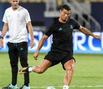 Cristiano Ronaldo en pleine forme pour la Coupe d'Europe 2017 contre Manchester United