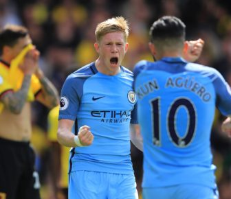 De Bruyne sur la point de rivaliser Messi et Ronaldo