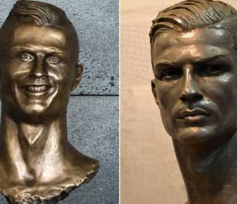 Le Real Madrid a dévoilé un nouveau buste, très réussi, de Cristiano Ronaldo