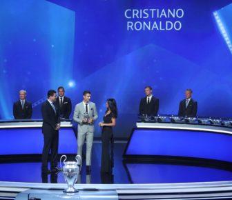 Cristiano Ronaldo et ses coéquipier remportent des prix de l'UEFA