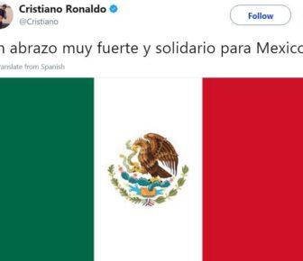 Séisme de Mexico : Cristiano Ronaldo et plusieurs clubs soutiennent les victimes de la catastrophe