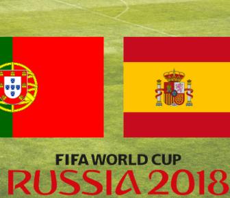 Match Espagne Portugal Coupe du Monde 2018