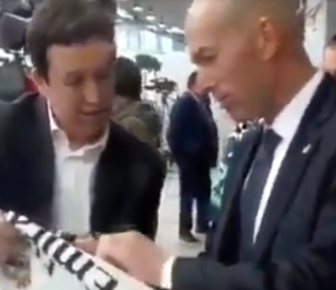 Zidane ne souhaite pas donner son avis sur la révolution citoyenne