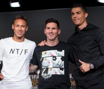 Lionel Messi, Cristiano Ronaldo et Neymar en tête de la liste Forbes 2019 des athlètes les mieux payés