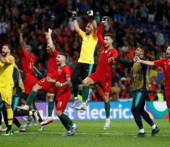 Résultat Portugal / Pays-Bas: Le but de Goncalo Guedes scelle la gloire du sol national en finale de la Ligue des Nations