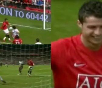 Quand Ronaldo marquait à United avec … son pénis!