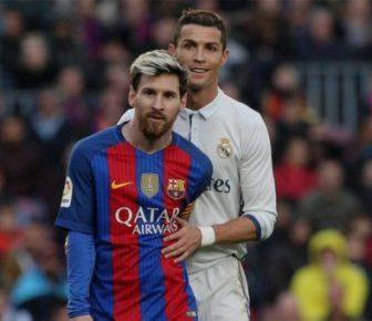 Cristiano Ronaldo manque à Lionel Messi