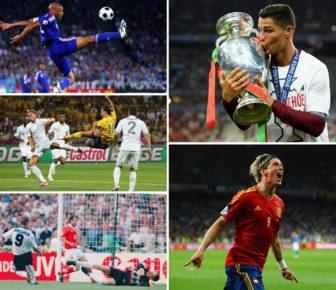 Meilleurs buteurs du Championnat d'Europe: Rooney, Ronaldo, Griezmann, Platini et les autres meilleurs buteurs