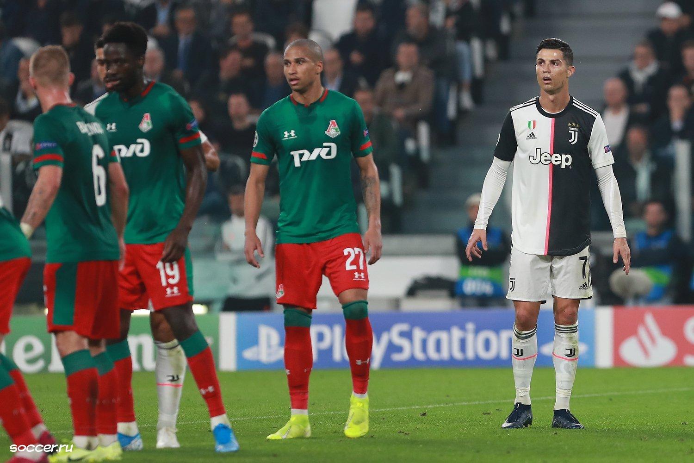 Cristiano Ronaldo avec son club la Juventus